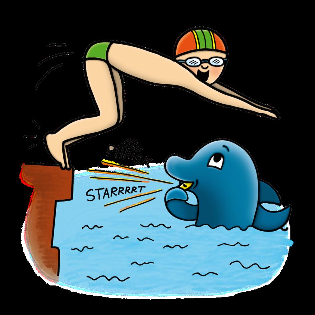 plavecke zavody nejmensich